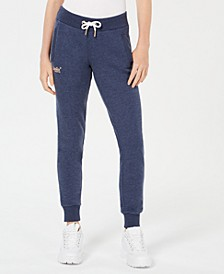 Fleece-Lined Drawstring Jogger Pants
