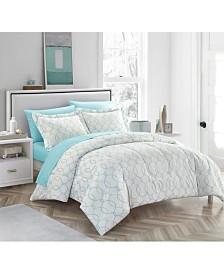 Monarch 7-Piece Full/Queen Comforter Set