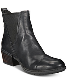 Timberland Women's Sutherlin Bay Slouch Chelsea Leather Boots