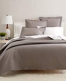 Charter Club Damask Cotton 3-Pc Quilted King Coverlet, Created for Macy's