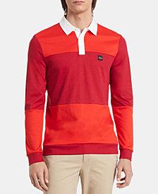 Calvin Klein Men's Liquid Touch Rugby Shirt