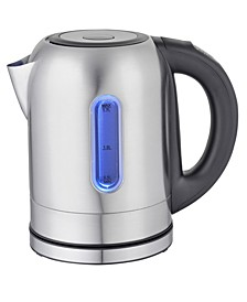 1.7Lt. Stainless Steel Electric Tea Kettle with 5 Preset Temps