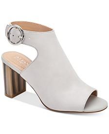 Alfani Floriss Step 'N Flex Horn Block-Heel Shooties, Created for Macy's