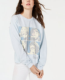 True Vintage Beatles-Graphic Cotton Sweatshirt