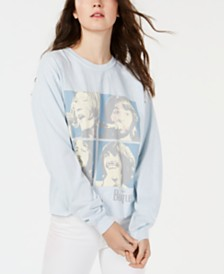 True Vintage Beatles-Graphic Cotton Sweatshirt
