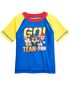 Dreamwave Toddler Boys Paw Patrol Graphic Rash Guard
