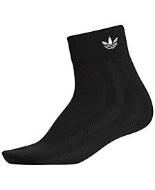 Mesh-Stripe Ankle Women's Socks