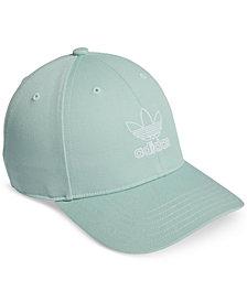 adidas Originals Cotton Relaxed Outline-Logo Cap