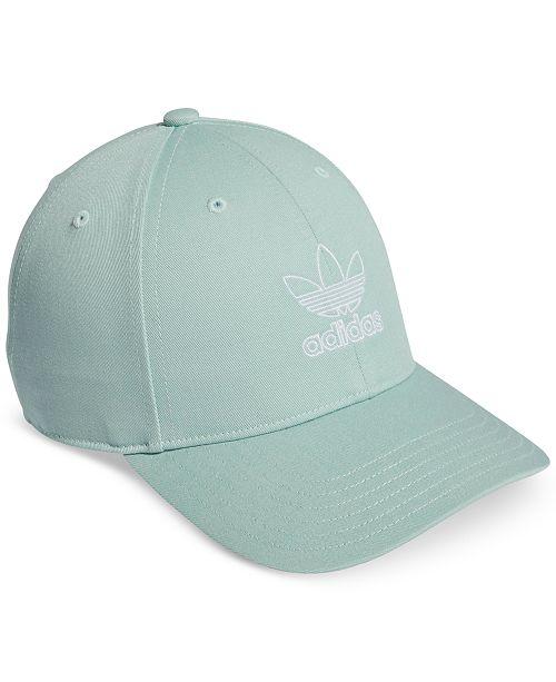 9cec66fcb18 adidas Cotton Relaxed Outline-Logo Cap   Reviews - Women s Brands ...