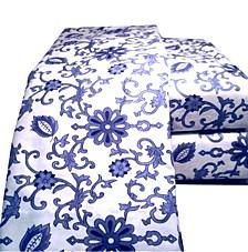 Paisley Flannel Sheet Set Twin