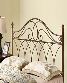 Robin Transitional Metal Queen Headboard