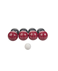 Triumph Competition 100 mm Resin Bocce Ball Outdoor Game Set with Carrying Bag for Easy Storage
