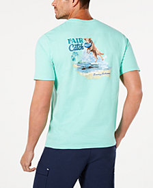 Tommy Bahama Men's Fair Catch Graphic T-Shirt
