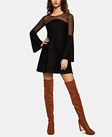 BCBGeneration Lace Illusion Dress
