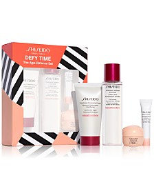 Shiseido 4-Pc. Defy Time Age-Defense Set