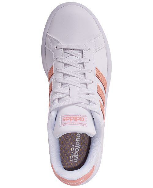 b031d2485b78a adidas Women s Grand Court Casual Sneakers from Finish Line ...
