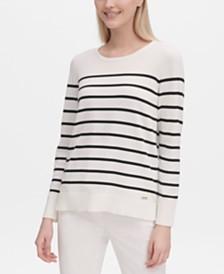 Calvin Klein Striped Sweater