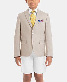 Lauren Ralph Lauren Little & Big Boys Light Linen Suit Jacket & Shorts Separates