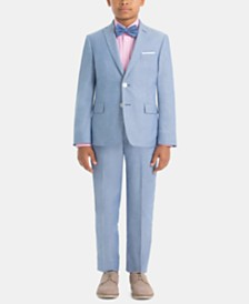 Lauren Ralph Lauren Little & Big Boys Cotton Suit Jacket & Pants Separates