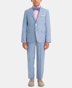 a9d850ba7c3c7 Lauren Ralph Lauren Little & Big Boys Cotton Suit Jacket & Pants Separates
