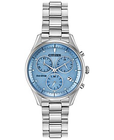 Eco-Drive Women's Chandler Stainless Steel Bracelet Watch 32mm