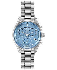 Citizen Eco-Drive Women's Chandler Stainless Steel Bracelet Watch 32mm