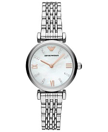 Women's Stainless Steel Bracelet Watch 32mm
