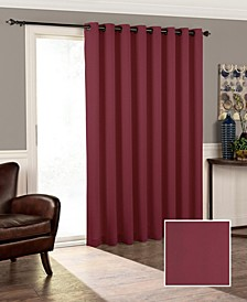 "Tricia Thermapanel Room-Darkening Door Panel, 100"" x 84"""