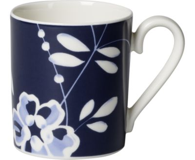 Old Luxembourg Brindille Blue Mug