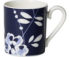 Villeroy & Boch Old Luxembourg Brindille Blue Mug