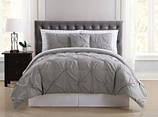 Truly Soft Arrow Pleated Twin XL Bed in a Bag