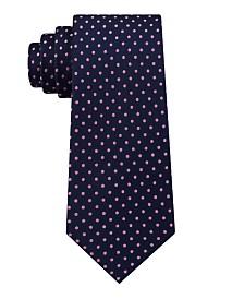Tommy Hilfiger Men's Pin Dot Silk Tie