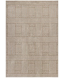 "Lucia Westport 2762 Beige 6'7"" x 9'6"" Indoor/Outdoor Area Rug"