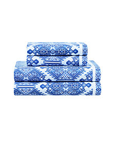 Destinations By Stavros Thera Sheet Set King