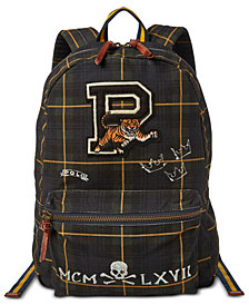 Polo Ralph Lauren Men's Black Watch Backpack