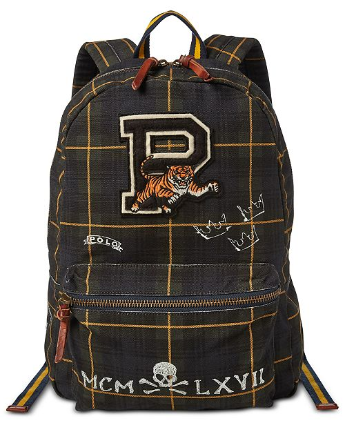 9647ac0010 Polo Ralph Lauren Men s Black Watch Backpack   Reviews - All ...