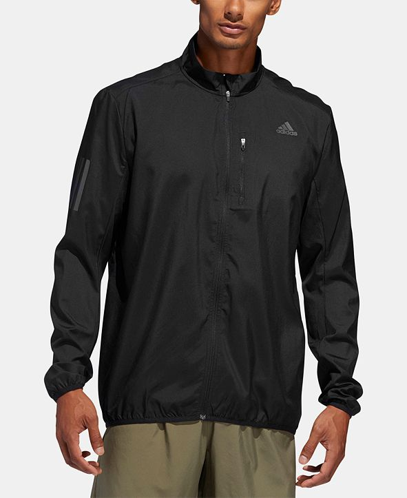 adidas Men's Water-Repellent Running Jacket