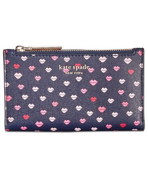 c85ec46bd3216 kate spade new york Sylvia Slim Bifold Wallet   Reviews - Handbags ...