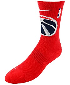 Nike Men's Washington Wizards Elite Team Crew Socks
