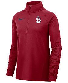 Nike Women's St. Louis Cardinals Half-Zip Core Element Pullover