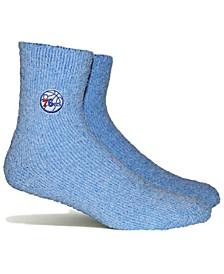 Women's Philadelphia 76ers Team Fuzzy Socks