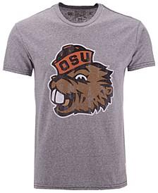 Men's Oregon State Beavers Retro Logo Tri-Blend T-Shirt