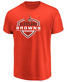 Majestic Men's Cleveland Browns Primary Reciever T-Shirt