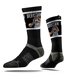 San Antonio Spurs Demar Derozan Action Crew Socks