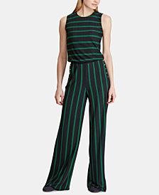 Lauren Ralph Lauren Petite Striped Jumpsuit