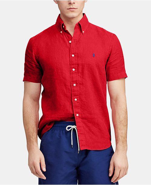Polo Ralph Lauren Men's Classic Fit Linen Shirt