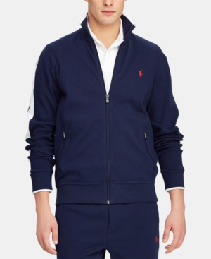 POLO RALPH LAUREN MEN'S COTTON TRACK JACKET