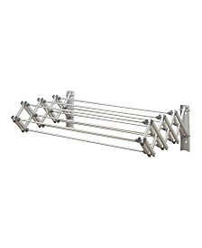 Woolite Aluminum Collapsible Wall Drying Rack