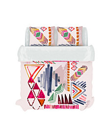 Lane Duvet Cover Set, King, Prism