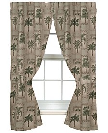 Palm Grove Drape Panel Pair